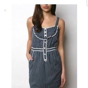 *UO* Tiki Rani pinstripe dress size Medium